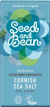 Seed & Bean Organic Dark Chocolate & Sea Salt 85g